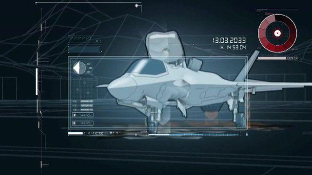 Graphic of F-35B