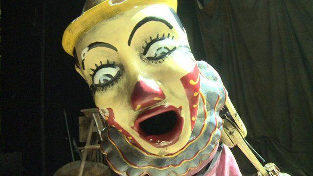 A puppet