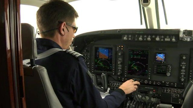 pilot on cloud seeding plane