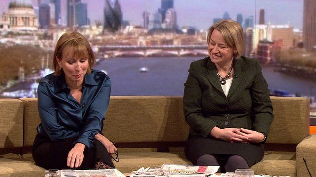 Sarah Sands and Natalie Bennett review the Sunday papers