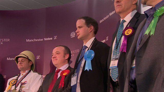 Wythenshawe by election candidates