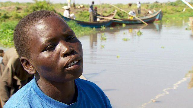 Lucy Odhiambo, a market-seller in Kenya