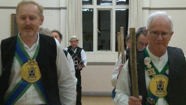 Allington Morris Dancers