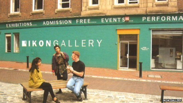 The Ikon Gallery in the 1980s