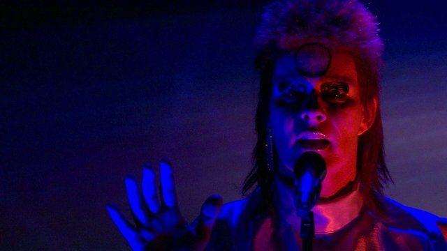 David Bowie impersonator