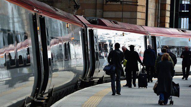 Train at Euston