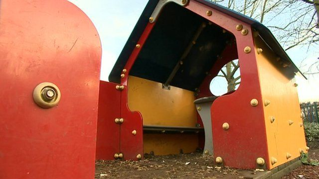 Playground in Peterborough where a girl was abused
