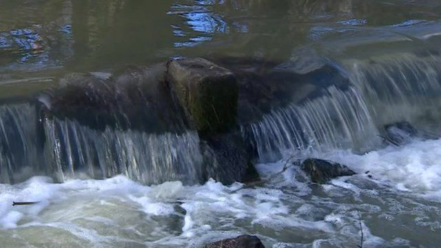 Water in the River Welland