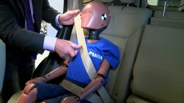 Booster seat dummy