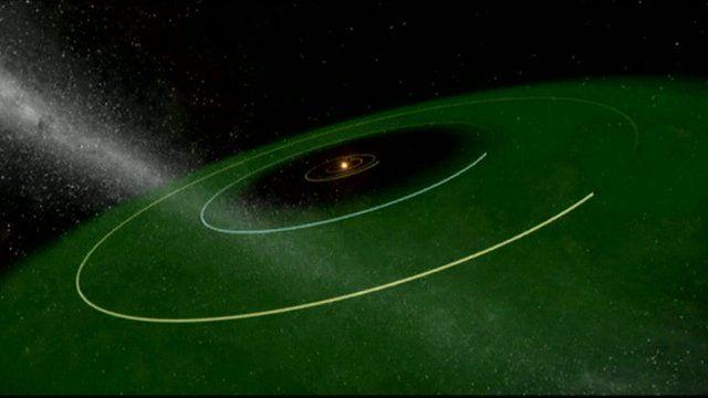 Nasa planets illustration