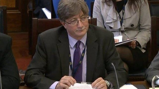 Nick Perry, who is now the permanent secretary at the Department of Justice, did not tell David Ford about the government's secret On the Runs administrative scheme
