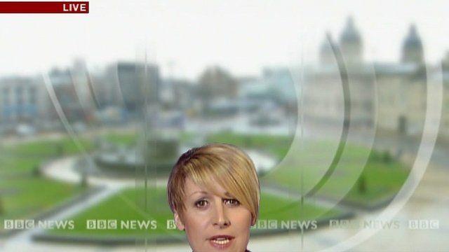 'Sinking' reporter Caroline Bilton