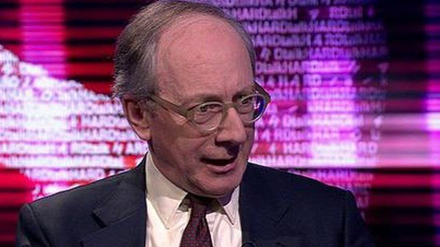 Sir Malcolm Rifkind, parliament's Intelligence and Security Committee chairman