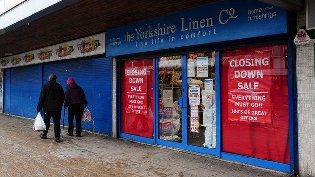 empty shops in Bradford
