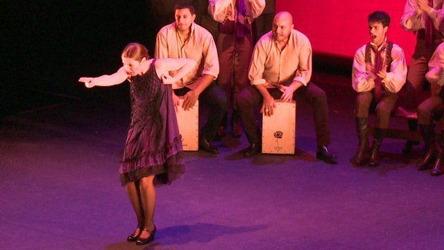 Flamenco star Sara Baras performing in London
