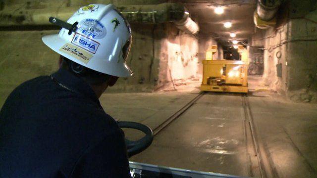 Underground at WIPP