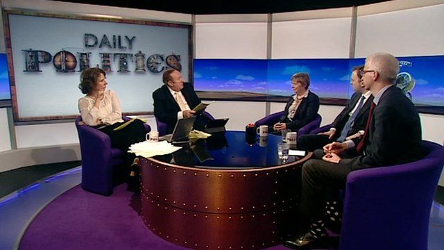Daily Politics panel review PMQs