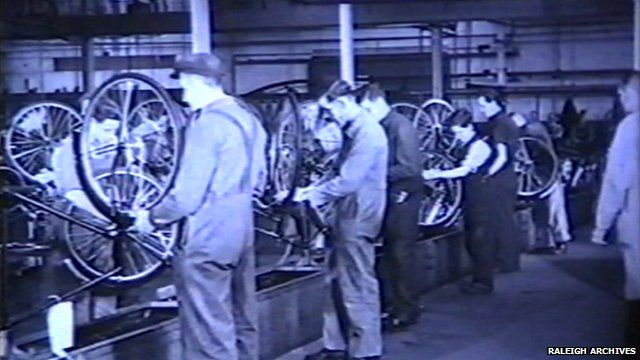 Raleigh archive footage