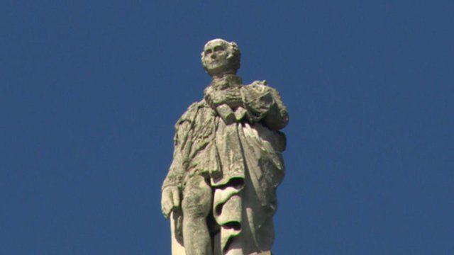 Statue of Earl Grey