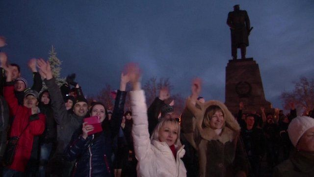 Celebrations in Simferopol
