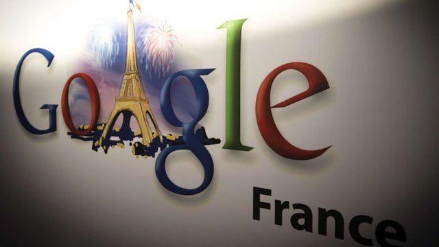 Google France logo