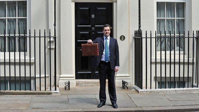 George Osborne in 2010