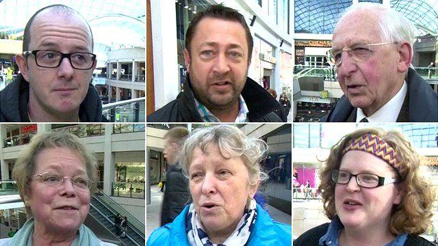 People in Leeds