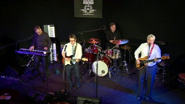 The MP4 band of MPs making music