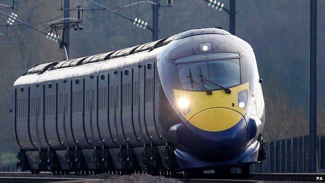 Hitachi Javelin train