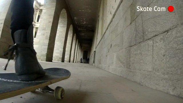 Skateboard camera