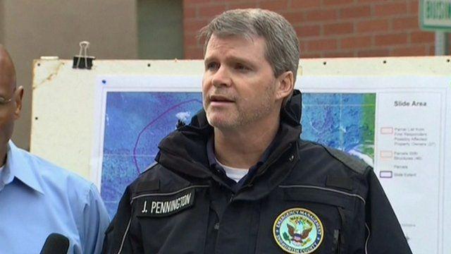 Snohomish County emergency management director John Pennington