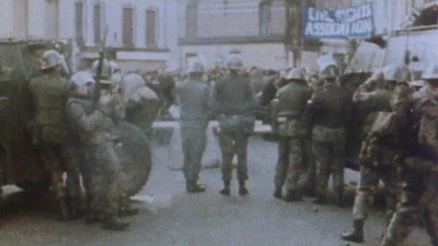 Archive image of Army in Northern Ireland
