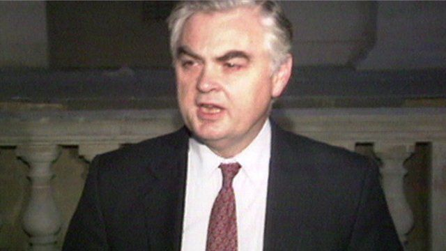 Chancellor of the Exchequer Norman Lamont on Black Wednesday