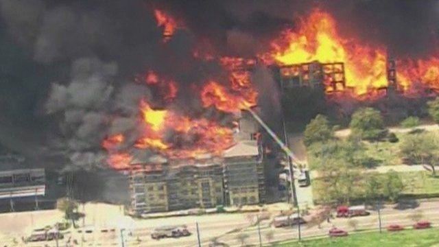 Houston fire