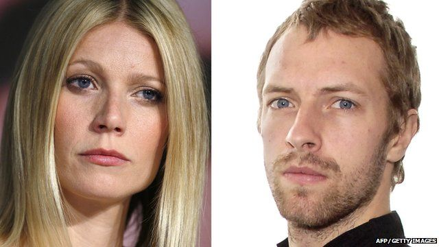 Gwyneth Paltrow (left) and Chris Martin (right)