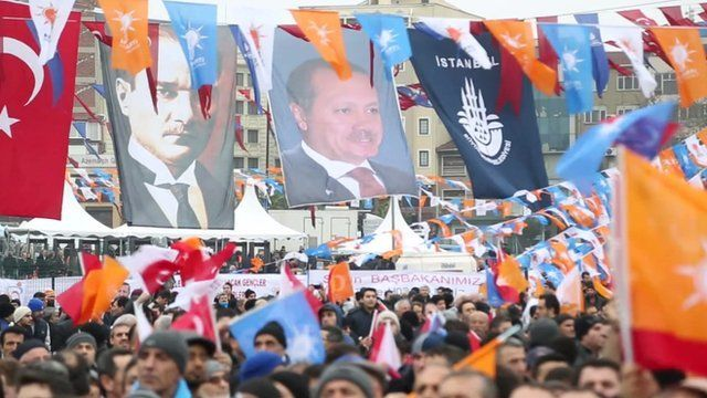 Erdogan rally