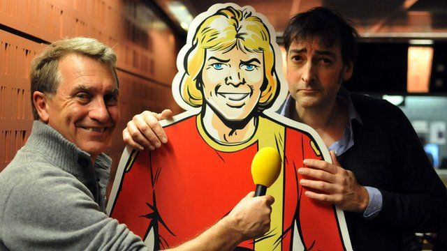 Garry Richardson, Roy of the Rovers and Alistair McGowan