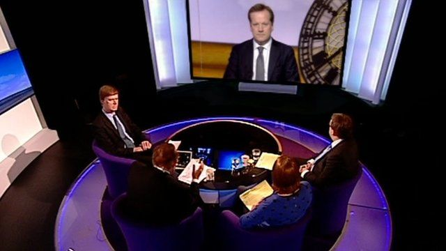 Daily Politics panel looking at the spare room subsidy