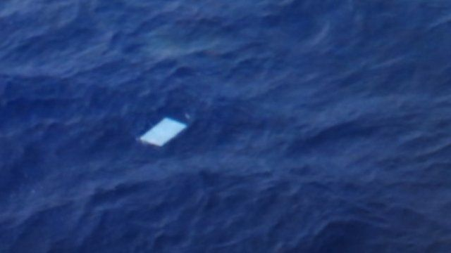 Debris spotted in the Indian Ocean during ongoing reconnaissance into missing Malaysia Airlines flight MH37