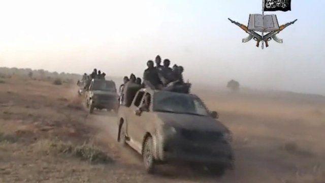 Video of Boko Haram militants