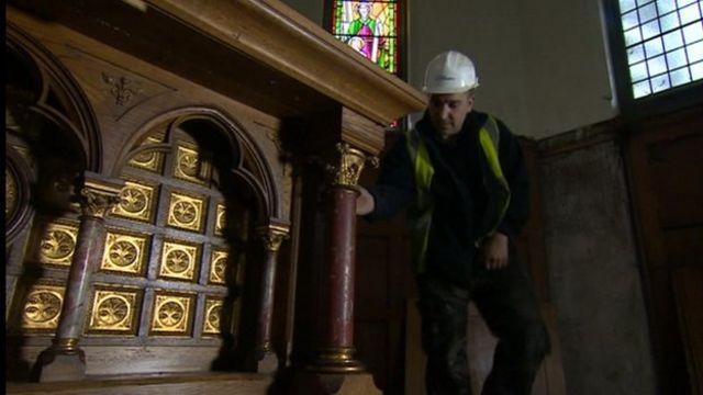 Demolition worker Barry Nesbitt