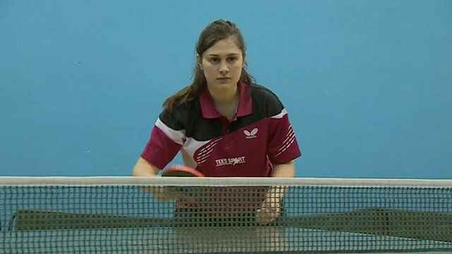 Northfield School & Sports College table tennis players