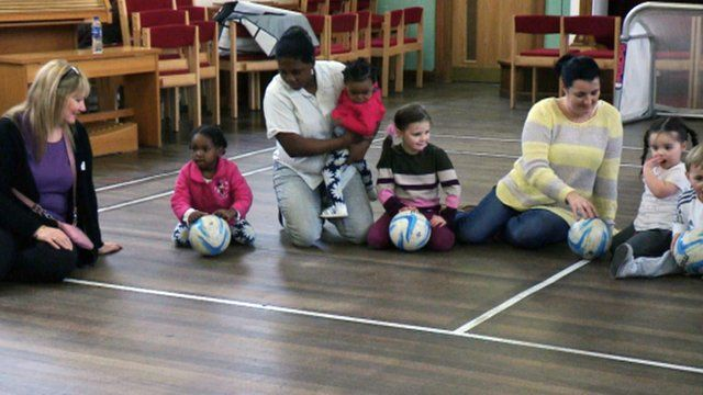 Mother and toddler group in Motherwell