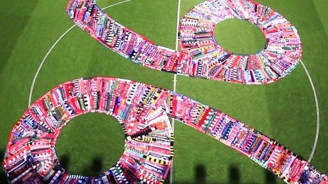 Anfield scarf memorial