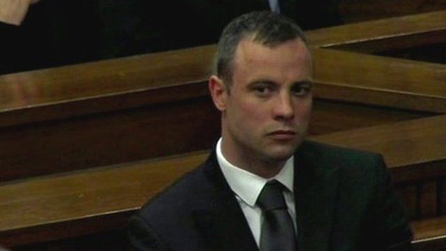 Oscar Pistorius in court 17th April