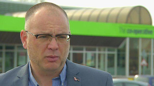 Unite union spokesman Adrian Jones