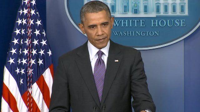 President Barack Obama at the White House 17 April 2014