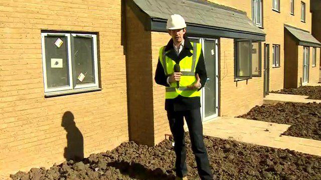 Ben Thompson on building site