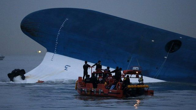 Maritime police search for missing passengers