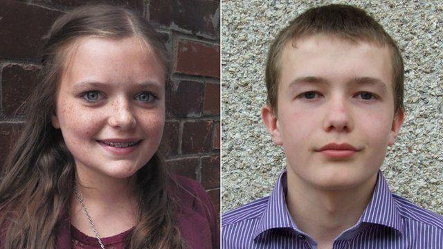 Ellie Kean and Gregor Ironside